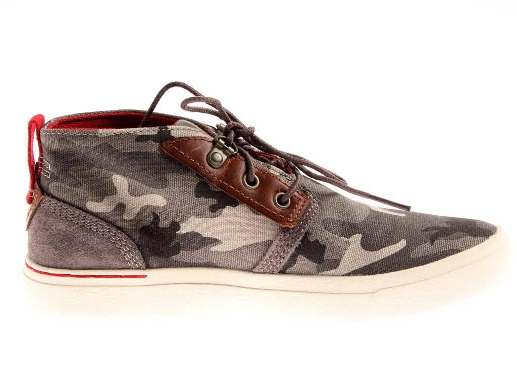 Details zu Timberland Womens Amherst Chukka Sneaker High Damen Canvas Schuhe camo A16LB