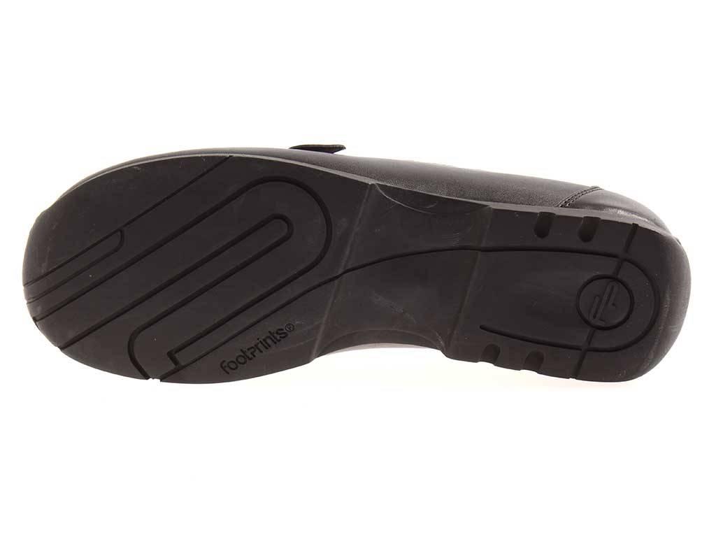 Footprints by schmal Birkenstock Halbschuhe Cleveland Leder schmal by unisex 339026