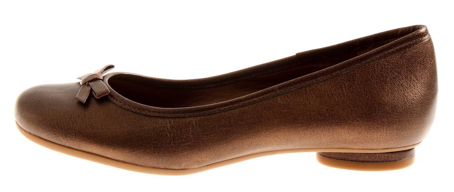 Clarks Bailarinas Cacao Crema Zapatos Cuero 2 De Detalles Piel Mujer Bailarina pzSGqUMV