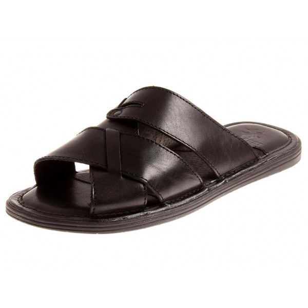 Nice Feet Lederpantolette in schwarz