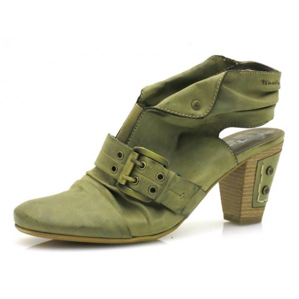 Tamaris Hochfrontpumps 0590 khaki