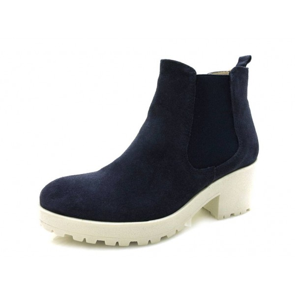 Tamaris - Plateaustiefelette - 1-25487-33 Navy-White