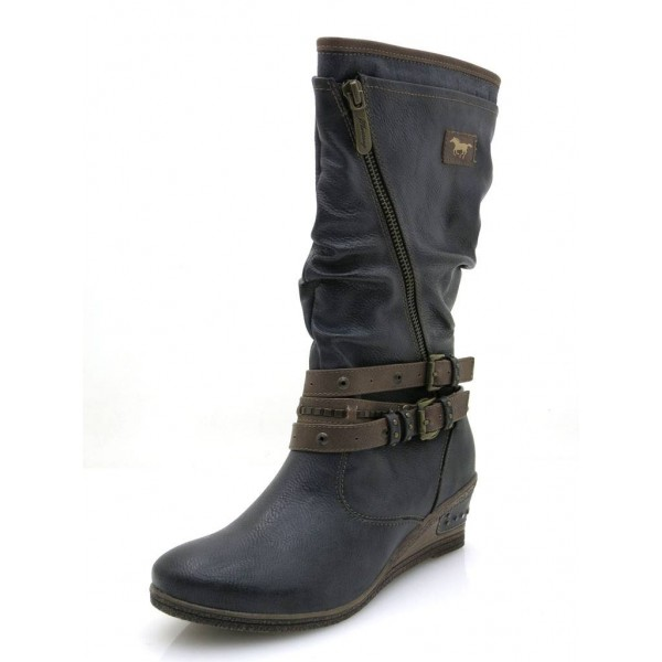 Mustang Stiefel graphit