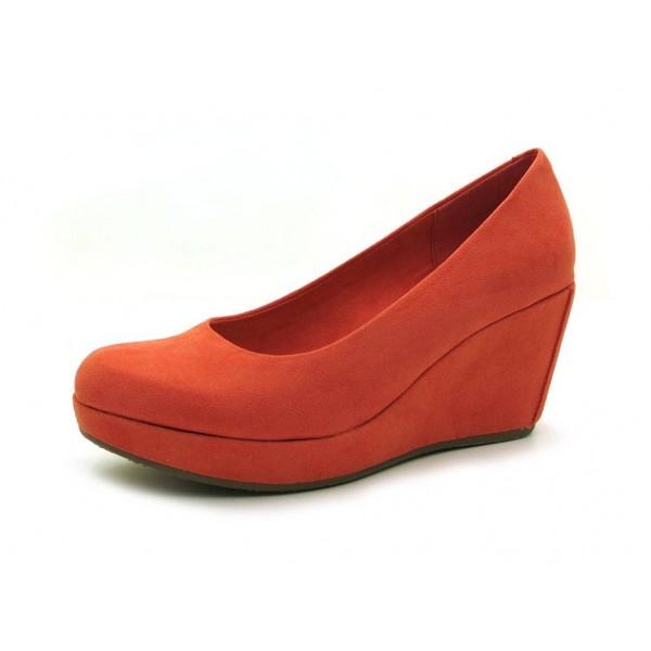 S.Oliver - Keilpumps - 5095 Orange