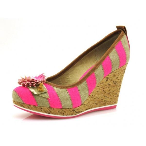 Tamaris Wedge 5415 pink beige