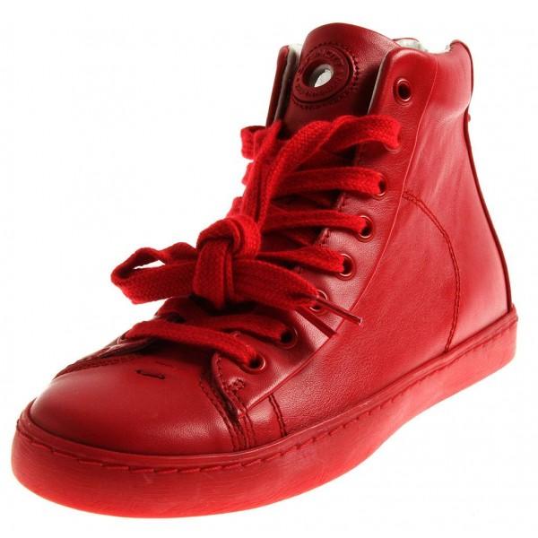 Ca Shott High Top Sneaker aus Leder