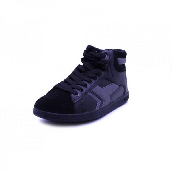 Boras - Sneaker high - 3446-70 Black-dk Grey
