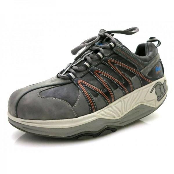 fit For Fun - Sneaker - 6929 Grau-Orange