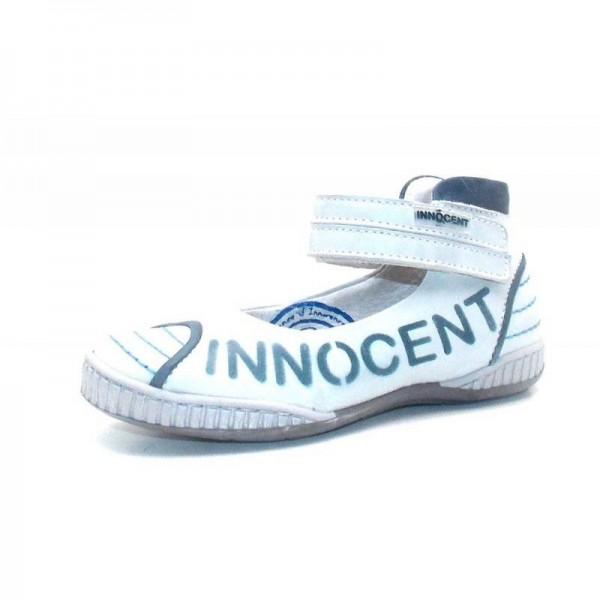 Innocent - Ballerina 339 White Riemchenballerina