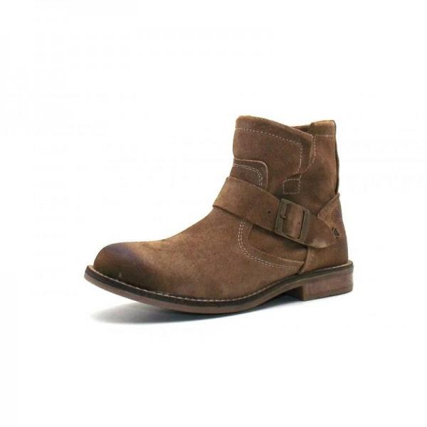 Nice Feet - Stiefelette - 1112-027 Wildleder Taupe