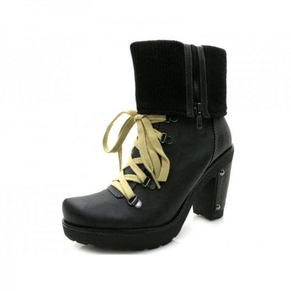 Queens - Stiefelette - 1949600 Black