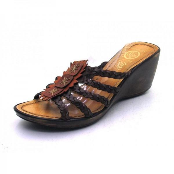 Samoa - Pantolette - 3294 Braun