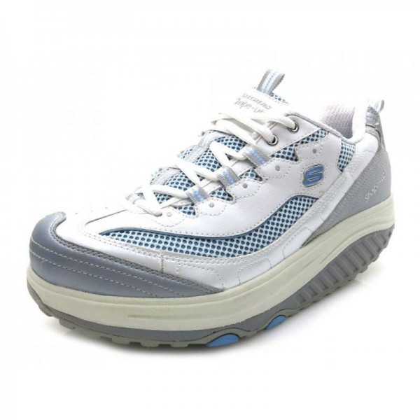 Skechers - Sneaker - 3703 Weiß-Blau