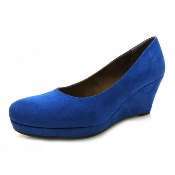 Tamaris - Keilpumps - 4776 Blau