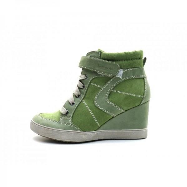 Tamaris - Keilstiefelette - 6728 Green