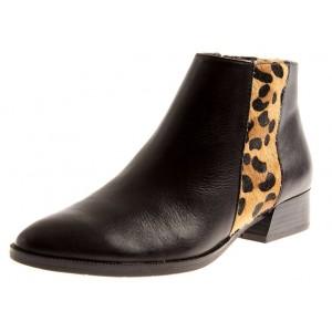 Tamaris Chelsea Boots1-25062 Black-Leopard