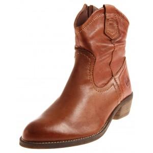 Marco Tozzi Cowboy Stiefelette aus Leder