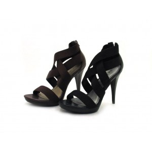 Via Uno - High Heel Sandalette - 20981605 Black