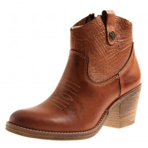 Kathamag Stiefelette im Cowboy-Look