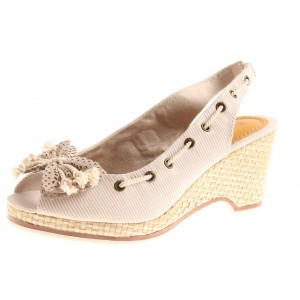 Marco Tozzi Sandalette in taupe