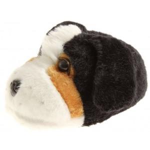 Knuffige Hausschuhe im Hunde-Look