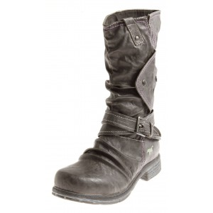Mustang Stiefel anthrazit