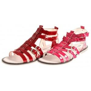 Richter Sandalen aus Lackleder