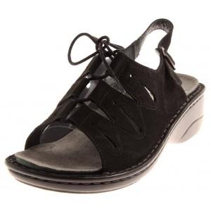 Rohde Sandale in schwarz