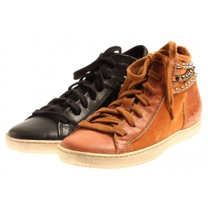 Isabelle High Top Sneaker aus Leder