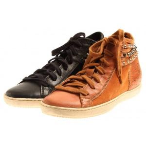 Isabelle High Top Sneaker aus Leder
