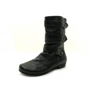Perche No - Stiefel - 8142-EE Grigio Scuro