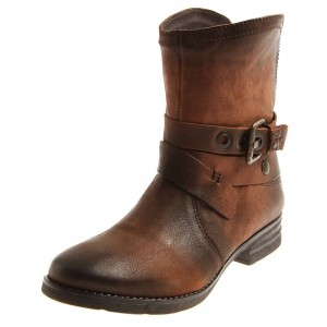 Seaside Biker Boot aus Leder