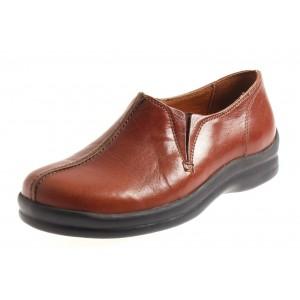 Footprints Halbschuhe Cambria-Teak-36