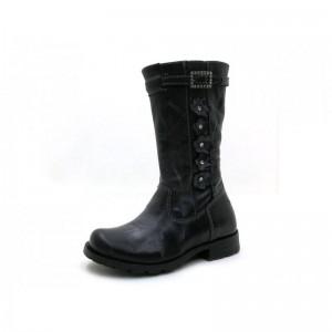 Perche No - Stiefel - 7125-K Grigio Scuro