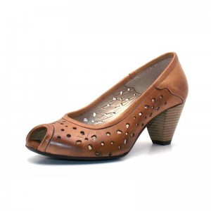 Seaside - Peeptoe - 2681232 Cognak