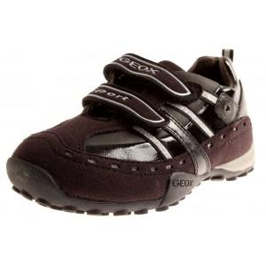 Geox Sneaker Snake black/silver