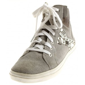 KimKay edle High Top Sneaker aus Leder