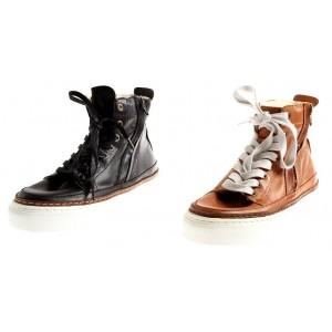 Isabelle warme High Top Sneaker aus Leder