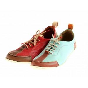Think Ledersneaker 84050