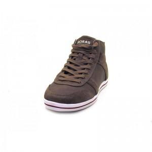 Boras - Sneaker high - 3283-1229 Taupe-White