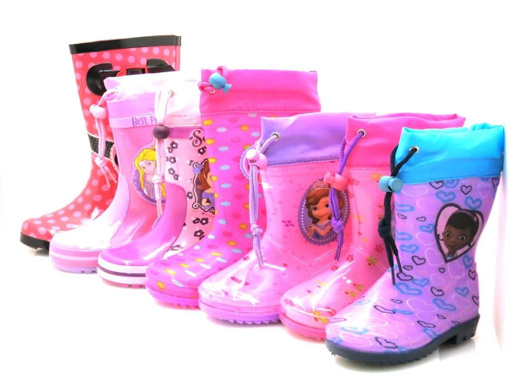 huge selection of 23f4b dc947 Details zu Disney Gummistiefel für Mädchen Regenboots Regenstiefel Sofie  Minnie Princess