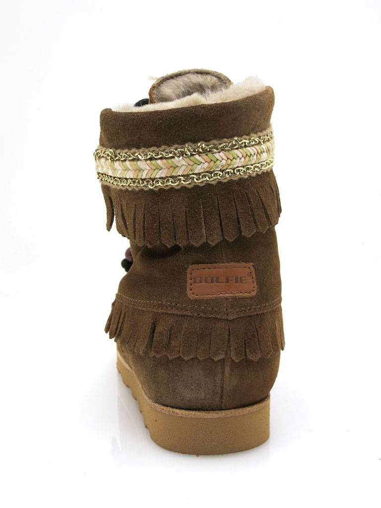 Dolfie Boot with Shearling Kids Shoes Children Boots Indiana