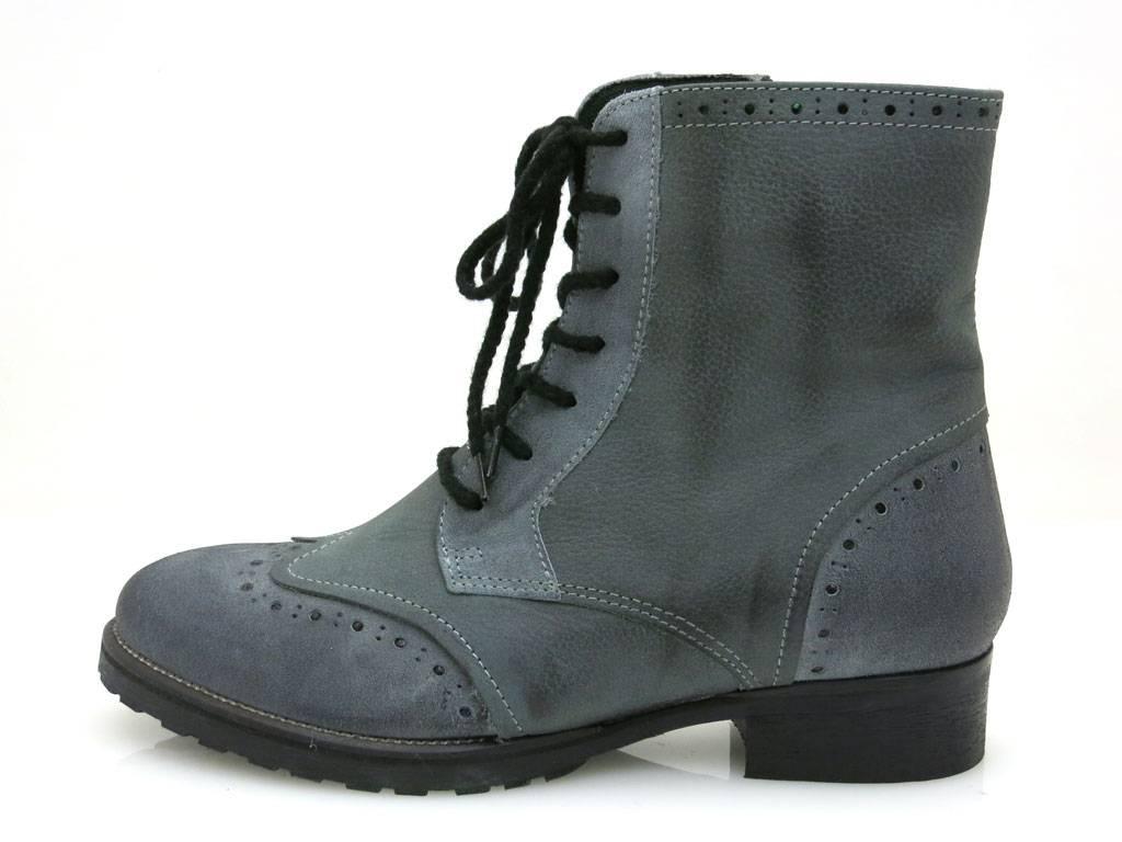 Kell SchnürStiefel Stiefeletten Damenschuhe Lederstiefeletten Schuhe SchnürStiefel Kell Stiefel Combat 1d7202