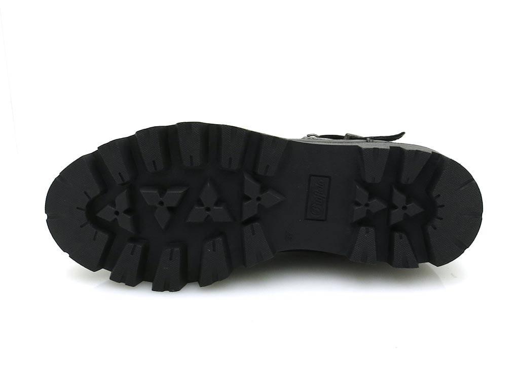 Buffalo robuste Bikerstiefelette Boot Leder Boot Bikerstiefelette Damenschuhe 30635 141192