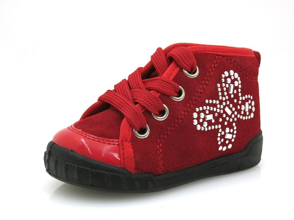 Naturino scarpe bambino bimba Scarpe per Primi Passi Pelle Falcotto 389  Rosso 77b77ecd77d