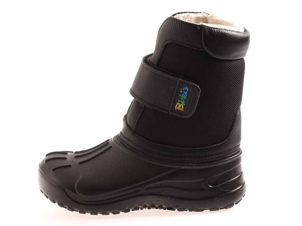 7e8434a5b0ef1e Birki s by Birkenstock Fun Boot Stiefel Kunstfell black Winterschuhe ...