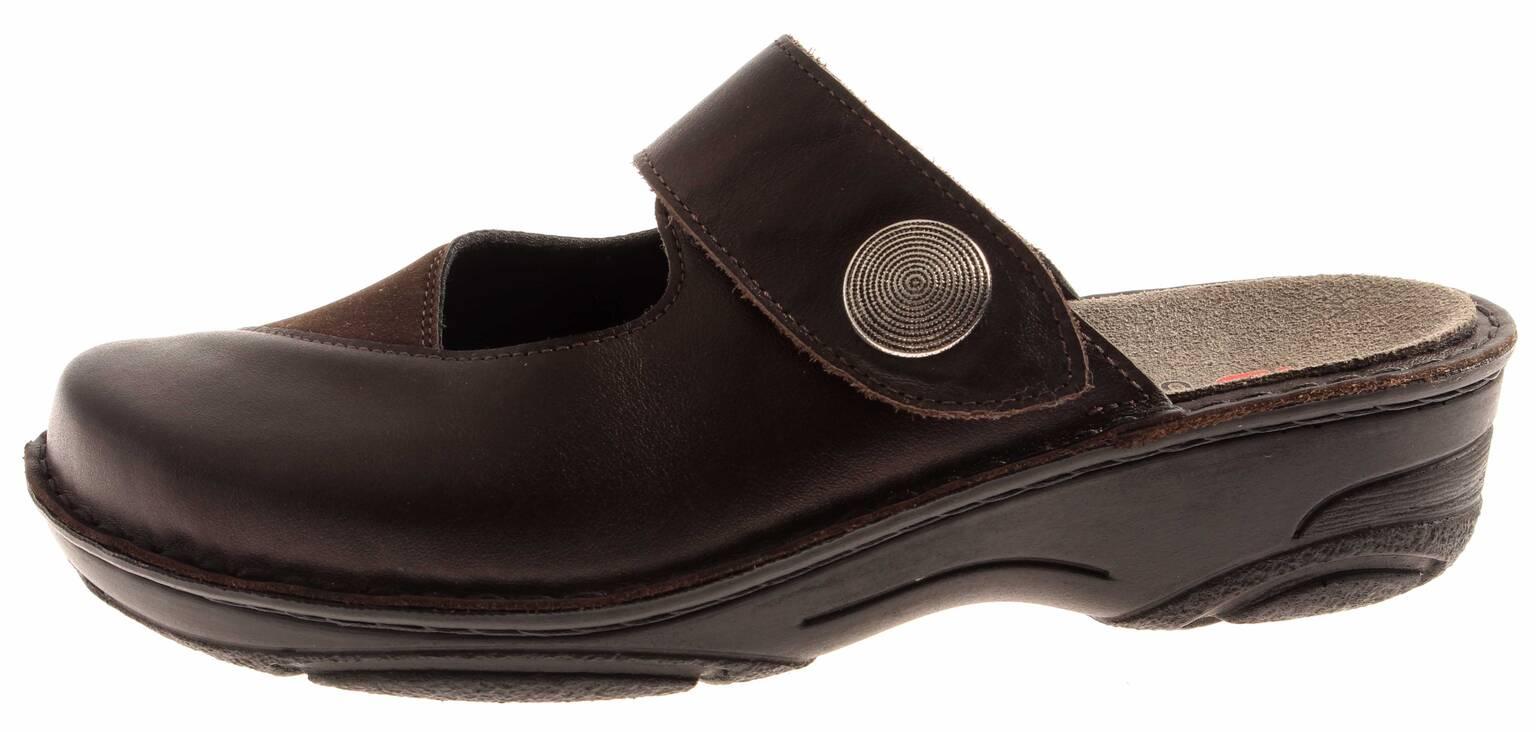 Berkemann für Pantolette Clogs Hellane Leder Schlappen Schuhe für Berkemann Damen 97767a