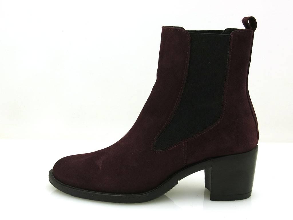 Kell Stiefeletten Damenschuhe Lederstiefeletten Schuhe schick Wildleder elegant schick Schuhe c9c91a