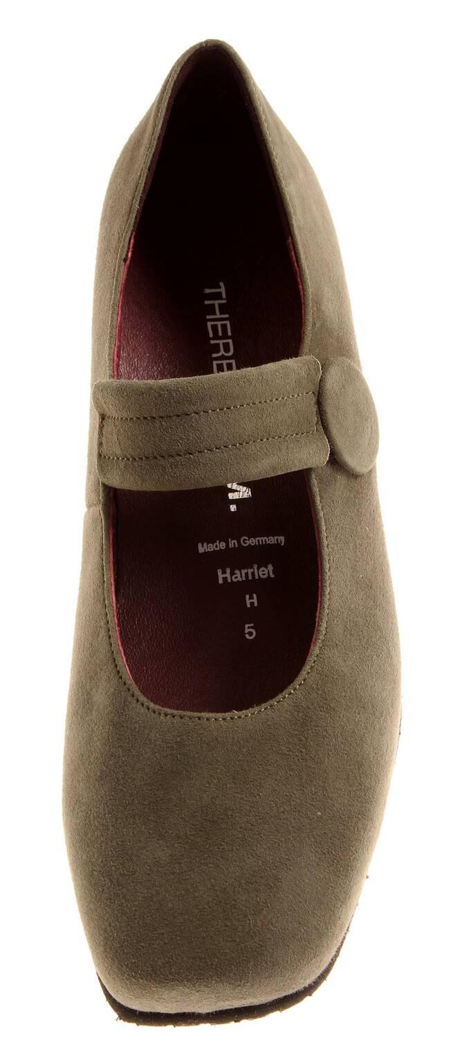 new product 45502 a8cbc Details zu Theresia M. Lederhalbschuhe Damenschuhe Leder Schuhe Ballerinas  M66402