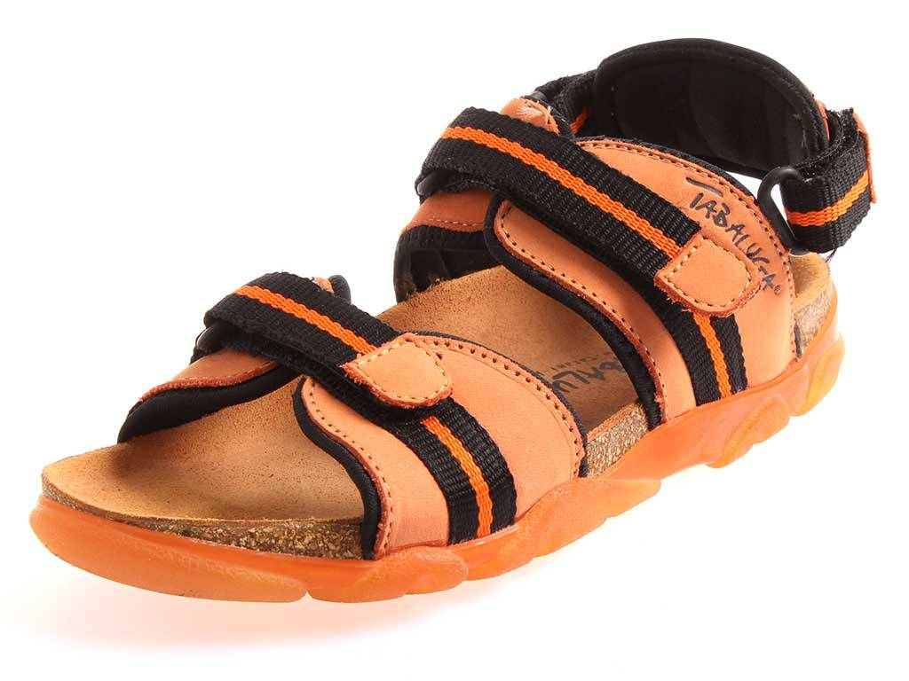 f1d91a9da116 Tatami Kids Tabaluga Nick Sandals Slippers Leather Cork NARROW EU 32 ...